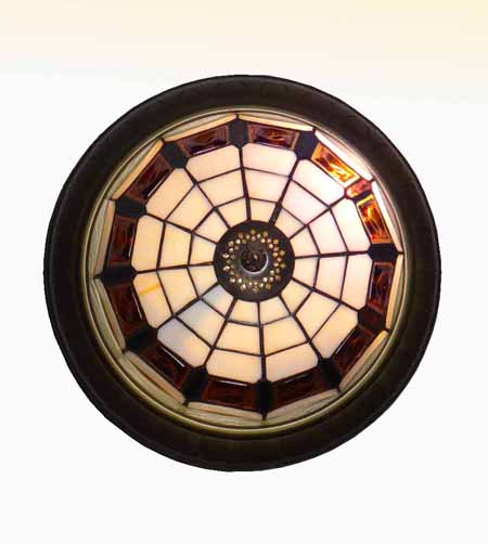 Люстра потолочная Тиффани 161263-2