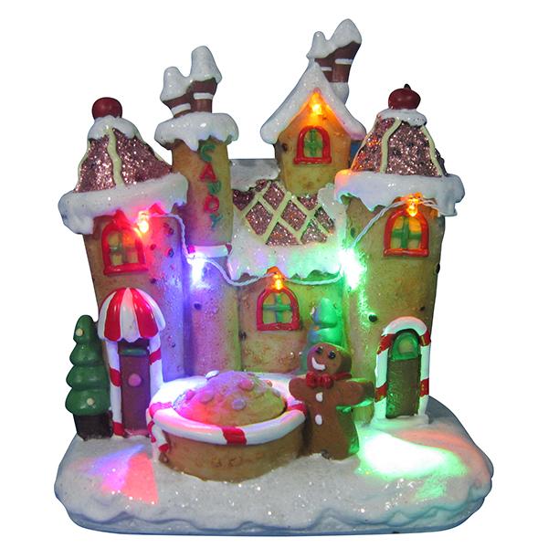 Новогодний домик,светильник 20685