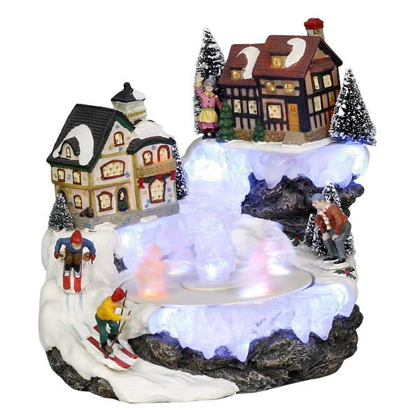 Новогодний домик, светильник 21-100