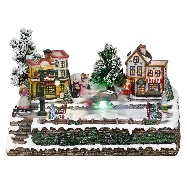 Новогодний домик, светильник 21-238