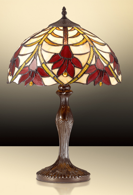 Настольная лампа Тиффани OD 26-40-1T