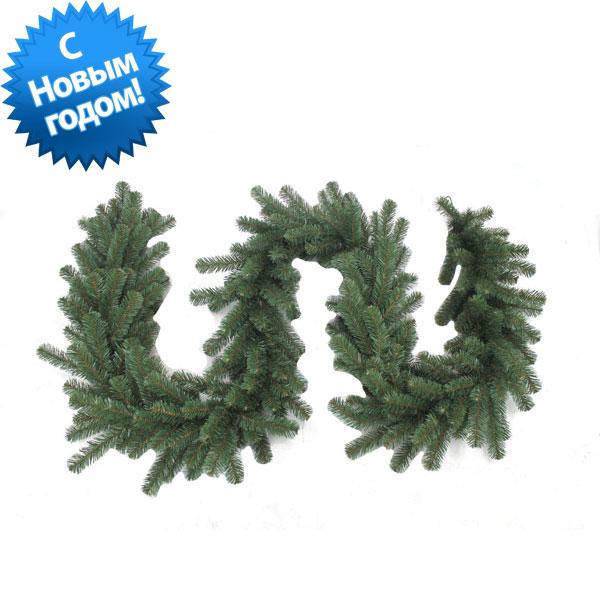 3407414/G - Гирлянда хвойная зелёная