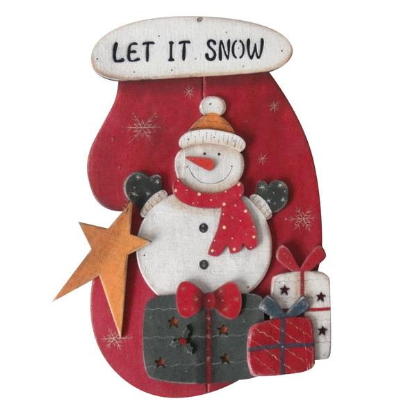 Новогодний сувенир из дерева 31068