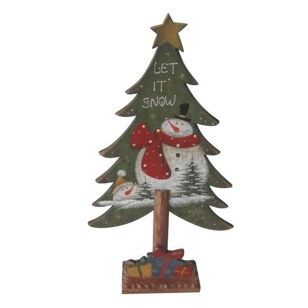 Новогодний сувенир из дерева 31391