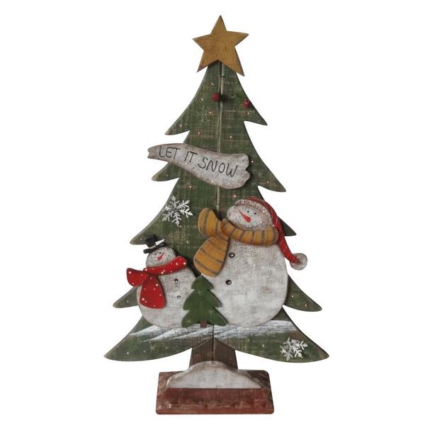 Новогодний сувенир из дерева 31186