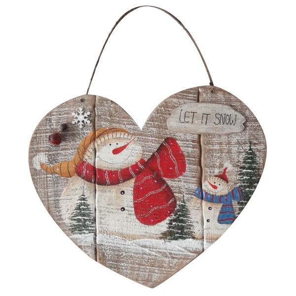 Новогодний сувенир из дерева 31210