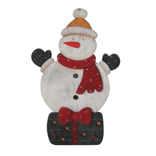 Новогодний сувенир из дерева 31567