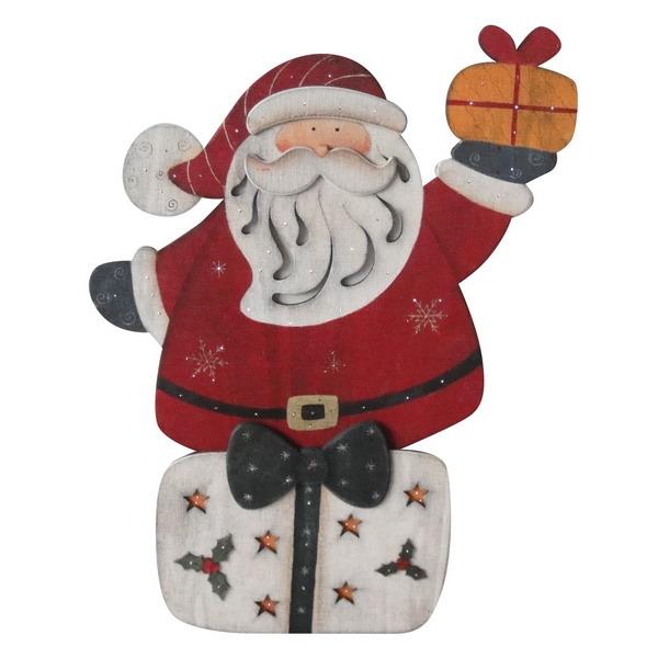 Новогодний сувенир из дерева 31566