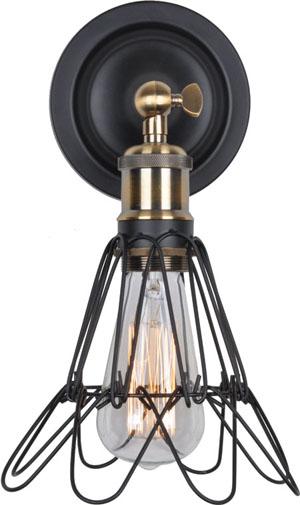 Светильник настенный в ретро-стиле 9109