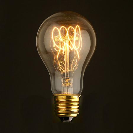 Лампа A75 Art: 7540-T