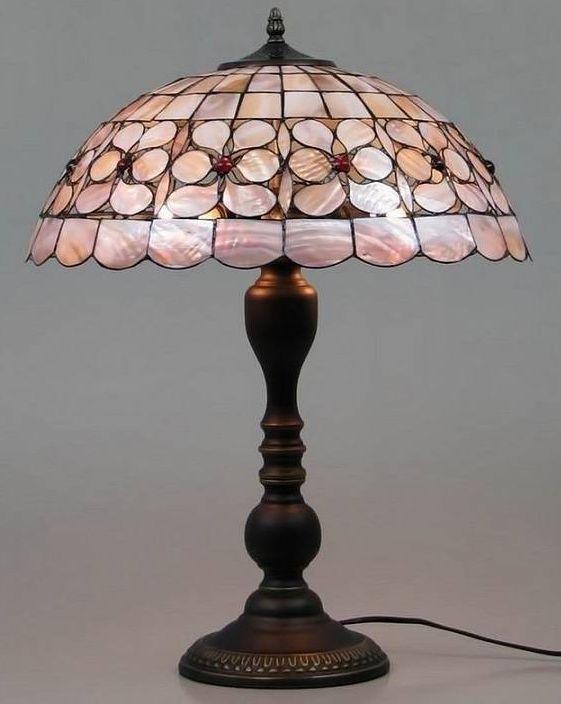 Настольная лампа тиффани RCN 717