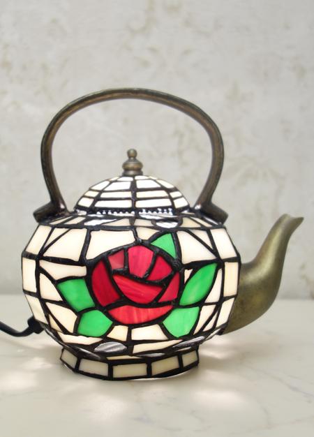 Ночник Тиффани - декоративный светильник TU 095 (R