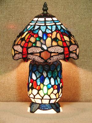 Настольная лампа Тиффани T 08020 B