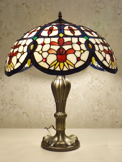 Настольная лампа тиффани RCN 601 T