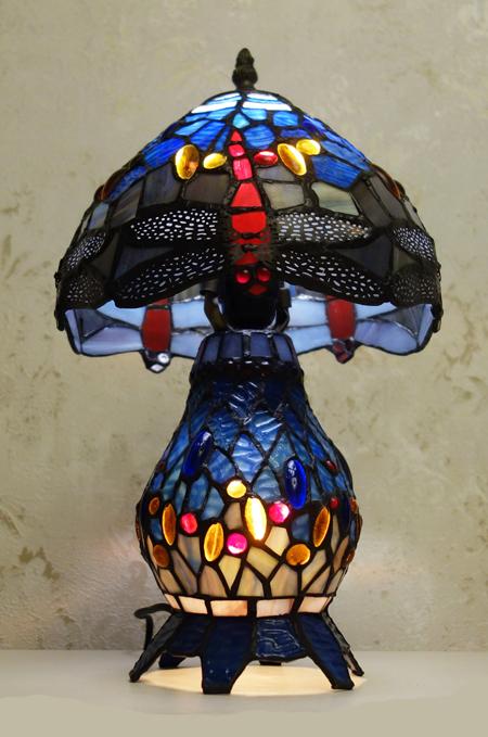 Настольная лампа Тиффани T 10020 B (QXTE 008)
