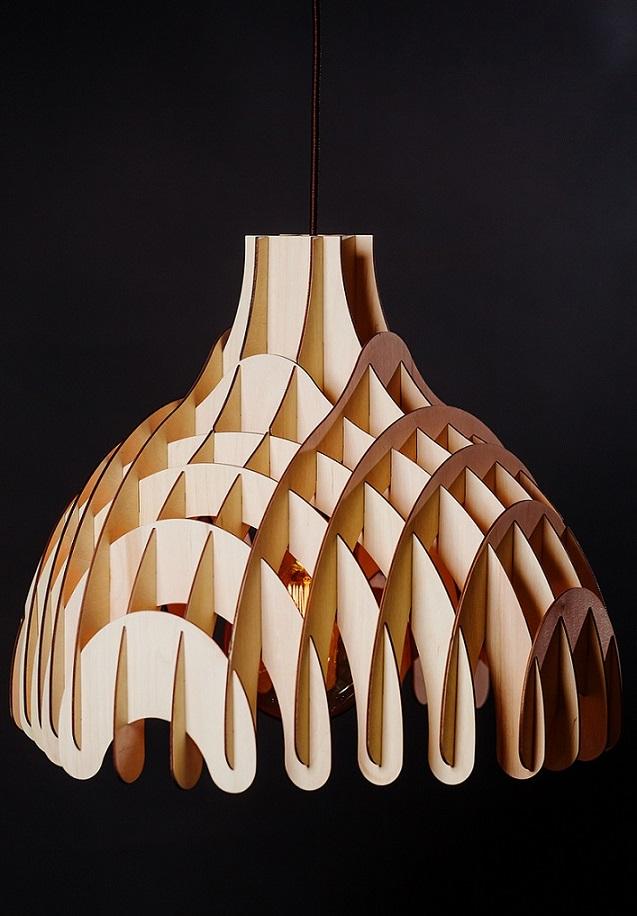 Светильник из дерева PM 01