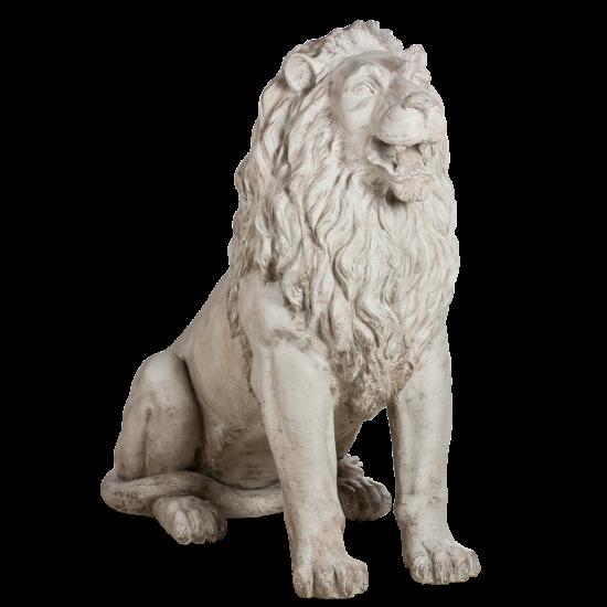 Скульптура уличная Лев