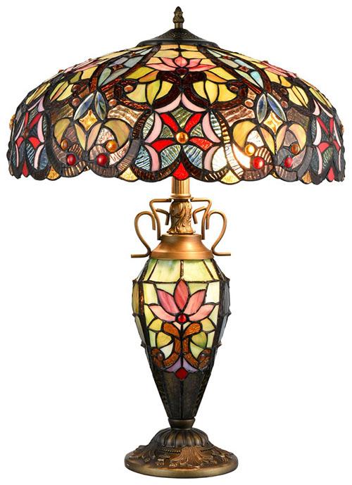 Настольная лампа тиффани 82503