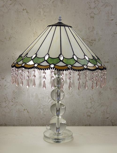 Настольная лампа тиффани T 18004