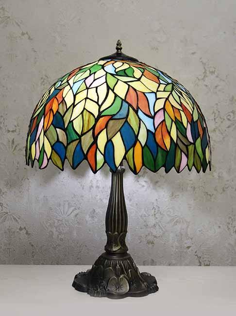 Настольная лампа RCN 100-2 листва