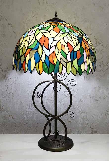 Настольная лампа RCN 100(листва)