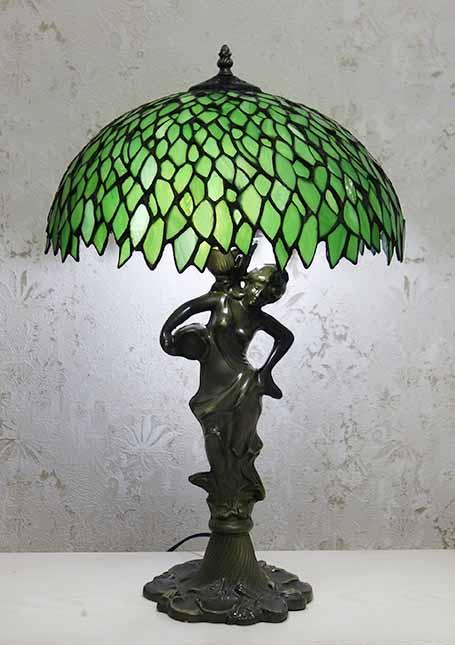 Настольная лампа тиффани T 1646 G