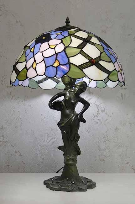 Настольная лампа тиффани RCN 134 L