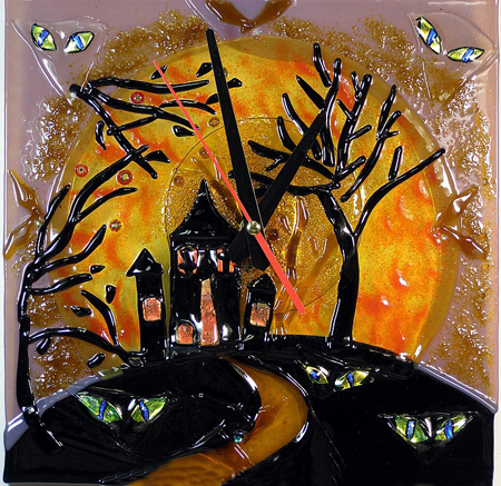 Часы настенные - Хеллоуин