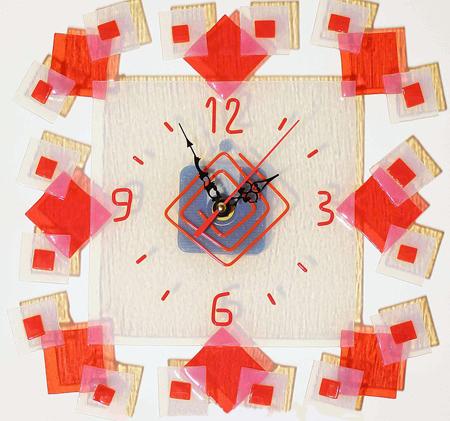 Часы настенные - Квадраты