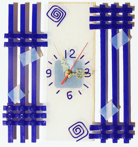 Часы настенные - Геометрическая абстракция 3