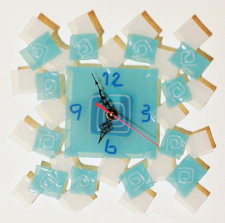 Часы настенные - Квадраты 2