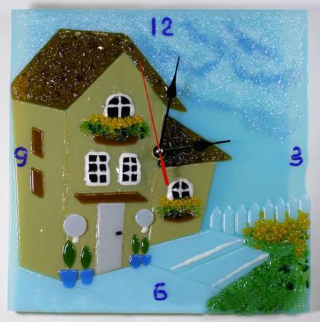 Часы - Домик (2)