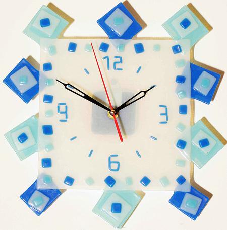 Часы настенные - Квадраты 1