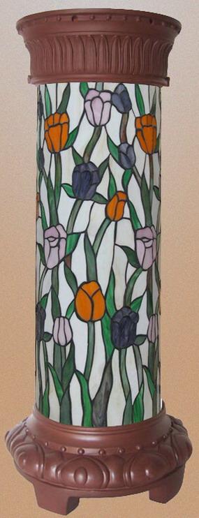 Витражные колонны QXTE 003
