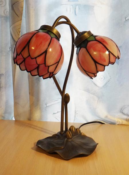 Настольная лампа PT 025 (розовый)